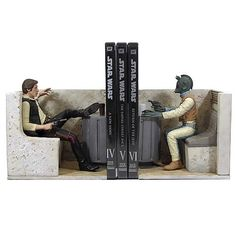 These bookends have The Force with them, in ANY cantina. I can practically hear…