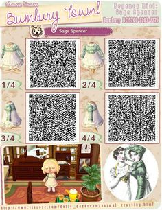 Animal Crossing New Leaf Qr Codes Clothes Dresses . Qr Code Animal Crossing, Animal Crossing Funny, Animal Crossing Qr Codes Clothes, Animal Crossing Pocket Camp, Funny Animal, Like Animals, Cute Baby Animals, Motif Acnl, Code Wallpaper