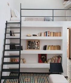 modices-ideias-para-decorar-kitnets-cama-suspensa-2 - Modices