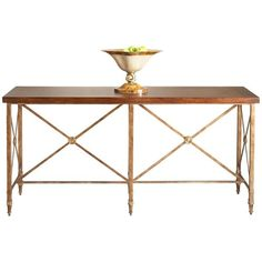 Chelsea House Overland Console - GDH   The decorators department Store