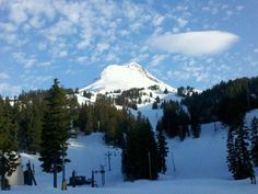 Spring Conditions @ Mt Hood 4/22/2012 7:00am