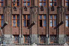 Scheepvaarthuis Amsterdam. Bouwstijl Amsterdamse School.