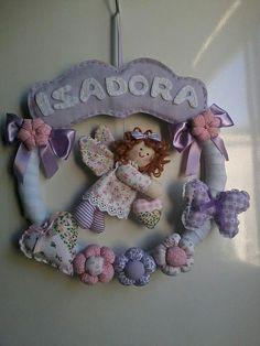 Guirlanda Porta Maternidade.