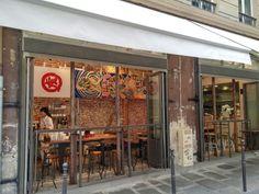 Japanese noodle restaurant, rue villedo, 75001, october 2014