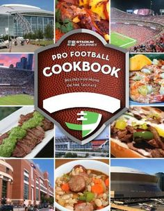 Stadium Journey Pro #Football #Cookbook. #NFL #gameday #tailgating #recipes www.thestyleref.com