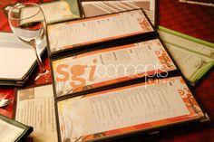 cartas de menú bistro varios modelos