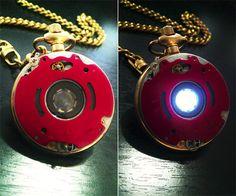 Iron Man Steampunk Pocket Watch