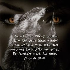 "97 Likes, 4 Comments - Veronika (Nika) Jensen (@lulus.secret.desires) on Instagram: ""No princess here ✋ Veronika Jensen @lulus.secret.desires • #woman #wolf #wolves #blood #fairytale…"""