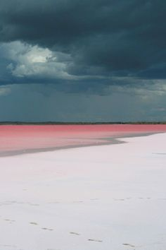 My latest obsession; photograph one of the pink lakes. #Travel #Color #Nature