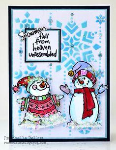 snowmen-card