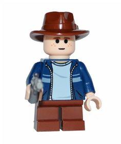 Lego Carl Grimes Figure Custom The Walking Dead