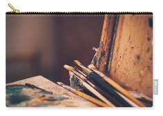 Tools For A Masterpiece Carry-all Pouch by Elena Ivanova @ivea78