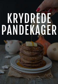 Få her en opskrift på pandekager til en adventssøndag, julebrunch eller hvornår du ellers er lækkersulten!