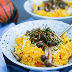 Did you know that Hokkaido pumpkin is native to Japan? It can be used to make various recipes. Try cooking, for example, a pumpkin risotto in Remoska®. Pumpkin Risotto, A Pumpkin, Japan, Canning, Ethnic Recipes, How To Make, Instagram, Food, Hokkaido