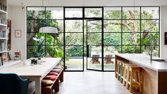 Amazing steelframe doors. The Sunshine Home