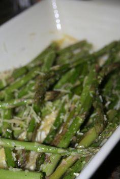 Lola's Homemade Cooking: Parmesan Asparagus