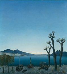 Maass, Ernst Am Langensee, Magic Realism, Mountains, Nature, Travel, Paintings, Fine Art, Switzerland, Cubism, Painting Art