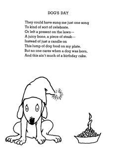 shel silverstein dogs day Birthday Poem