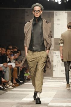 Standard Deviation - Fashion. Design. Culture. Art. Myko.: Robert Gellar Spring / Summer 2013 Menswear Runway #NYFW