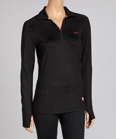 Another great find on #zulily! Black Essential Pullover - Women & Plus by Ryka #zulilyfinds