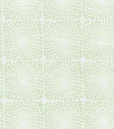 Nate Berkus Home Decor Print Fabric- Dari Mosiac Paramount Seastone