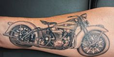 motorcycle tattoo design