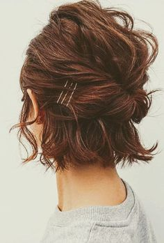 cute and messy twists for short hair