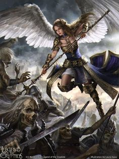 Laura Sava Art Legend of the Cryptids card (Shilkniel adv.)