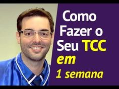 COMO FAZER UM TCC - TCC SEM DRAMA - COMO FAZER UM TCC PASSO A PASSO! - YouTube