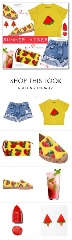 """""""Summer Vibes"""" by queenvirgo ❤ liked on Polyvore featuring Dolce&Gabbana and NARS Cosmetics"""
