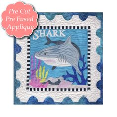 Shark Quilt Pattern | Related products for Sea Life – 11 Shark Kit (Includes $10 Pattern)