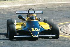 Michele Alboreto - Minardi Fly 281 BMW/Mader - Minardi Team - XXII Gran Premio di Roma 1981 - European F2 Championship, Round 5