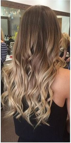 brunette ombre hair color done right