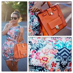 Check out Kailani from Kailani's Korner rocking a co-ordinate floral outfit   #floral #coordinate #outfit #blogger #fashion