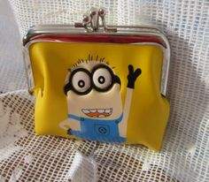 Despicable Me Coin Purse or Make Up Purse. Starting at $5 on Tophatter.com!