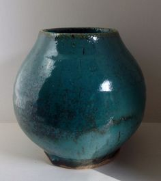 Copper chun vase. Annie Jennings.