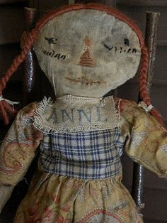 Spring Rag Doll Primitive Rag Doll Primitive Doll by mustardseed, $19.99 ( I have collected mustard seed dolls in her early years. the rag dolls are the BEST! Pat B.)