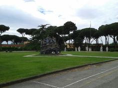 Cinecitta.Roma.Estatua de Venusia del film Casanova de F . Fellini.