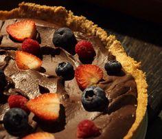 Godiva manjari berry pie