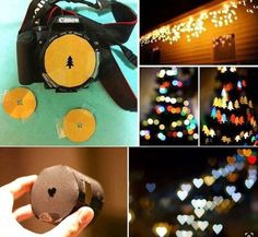 Create Your Own Bokeh Light Bursts