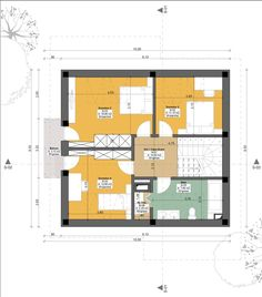 Small but beautiful house plans - Houz Buzz Beautiful House Plans, Beautiful Homes, Tree Bedroom, Cosy House, This Is Us, Floor Plans, How To Plan, Bedrooms, Houses