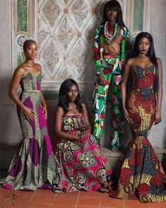 Discover a variety of outfits made from African prints including Ankara. Get inspiration (view pictures of African print styles) to help attend an event. African Inspired Fashion, African Print Fashion, Africa Fashion, Fashion Prints, Ankara Fashion, Tribal Fashion, African Attire, African Wear, African Women