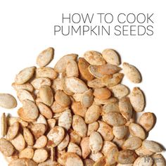 Harvest the seeds from your jack-o'-lantern or pie pumpkin to make a tasty, toasted pumpkin seed snack: http://www.bhg.com/recipes/how-to/cook-with-fruits-and-vegetables/how-to-cook-pumpkin-seeds/?socsrc=bhgpin083014pumpkinseeds