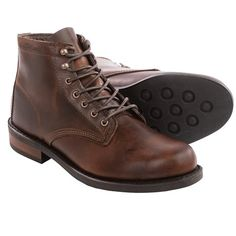 Wolverine No. 1883 Kilometer Lace-Up Boots - Factory 2nds in Brown Leather