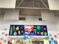 Howard Winn- CSD Power Up with fruits and veggies banner #powerup #fruitsandveggies