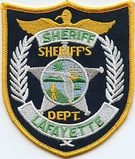 LAFAYETTE COUNTY FLORIDA  SHERIFF POLICE PATCH