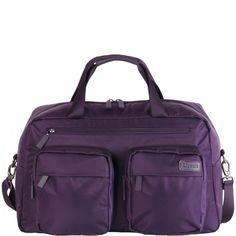 Lipault Getaway bag purple