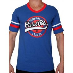 Pistol Pete Champions Short Sleeve Tee T-Shirt Royal Pistol Pete, Champions, Short Sleeve Tee, Shorts, Tank Tops, Stylish, Tees, Casual, T Shirt