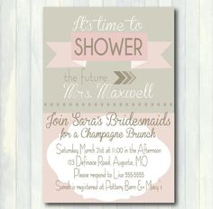149 best bridal shower invitations images on pinterest chanel bridal shower invitation wording filmwisefo