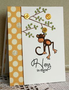 An adorable card by Kristii.  See her blog post for the inside!
